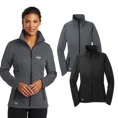 ogio®endurance ladies crux soft shell jacket