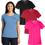 29019 - Sport-Tek® Ladies PosiCharge® Competitor™ Cotton Touch™ Tee