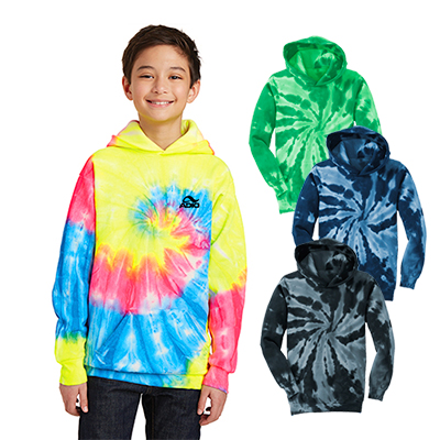 Port & Company® Youth Tie-Dye Pullover Sweatshirt