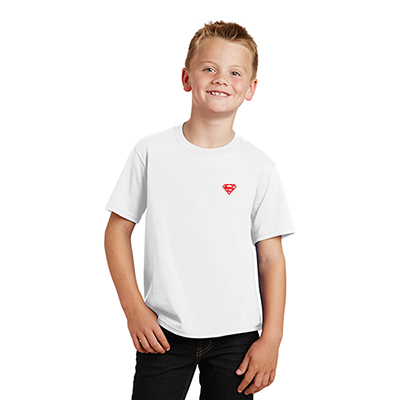 Port & Company® Youth Fan Favorite™Tee (White)