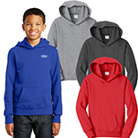 29067 - Port & Company® Youth Fan Favorite™ Fleece Pullover Hooded Sweatshirt