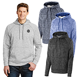 29069 - Sport-Tek® PosiCharge® Electric Heather Fleece Hooded Pullover