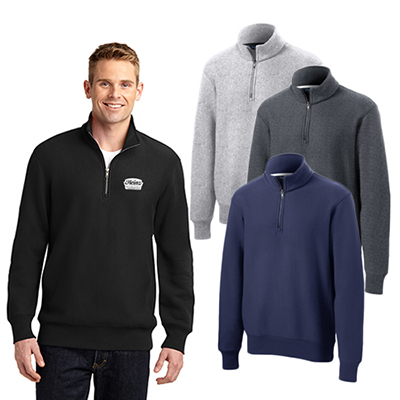 Sport-Tek® Super Heavyweight 1/4-Zip Pullover Sweatshirt