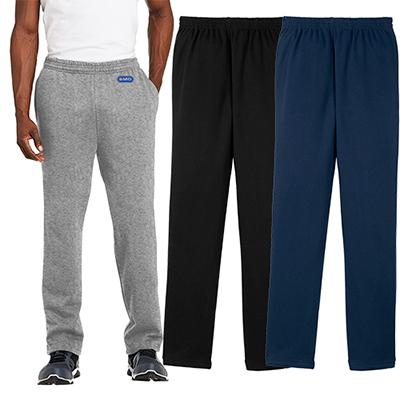 sport-tek®open bottom sweatpants