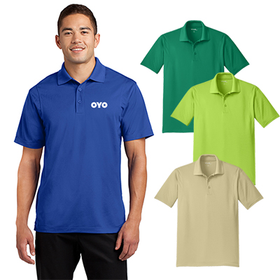 sport-tek® tall micropique sport-wick® polo