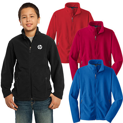 port authority®youth value fleece jacket