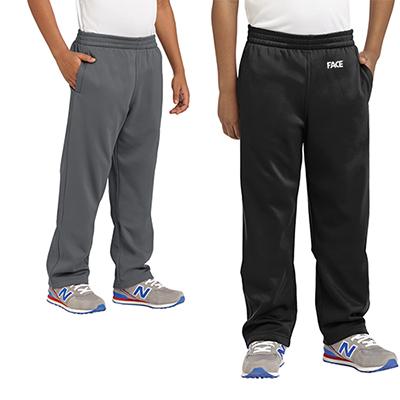 sport-tek®youth sport-wick® fleece pants