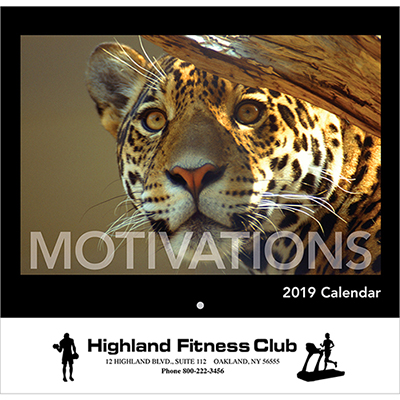 motivations wall calendar - stapled 2019