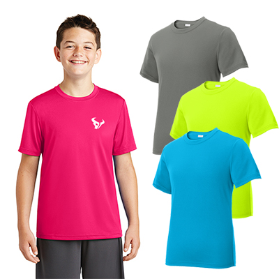 Sport-Tek® Youth PosiCharge®Tough Tee®