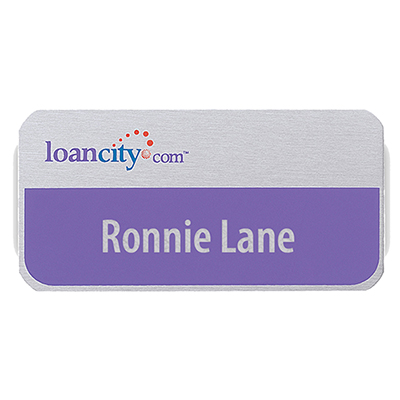 aspen standard name badge 3 x 1-1/2