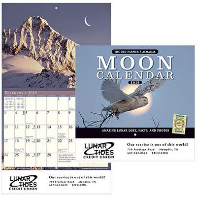 the old farmers almanac moon - stapled 2019