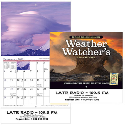 the old farmers almanac weather watchers - stapled 2019
