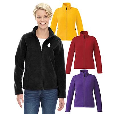 core 365 ladies journey fleece jacket