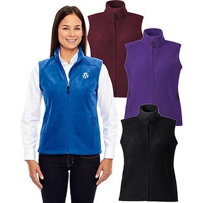 core 365 ladies journey fleece vest