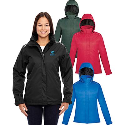 core 365 ladies region 3-in-1 jacket