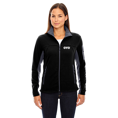 north end ladies microfleece jacket