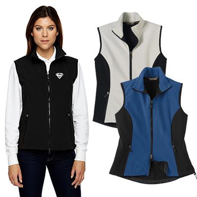 north end ladies three-layer light bonded performance vest