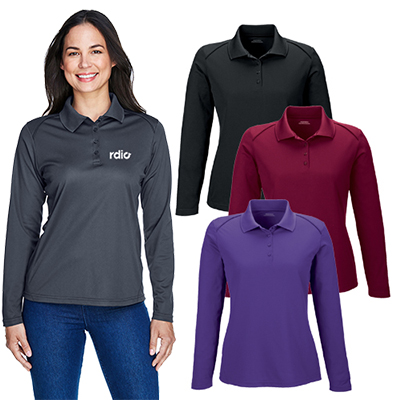 extreme ladies eperformance™ long-sleeve polo