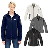 29530 - North End Ladies' Three-Layer Fleece Bonded Technical Jacket