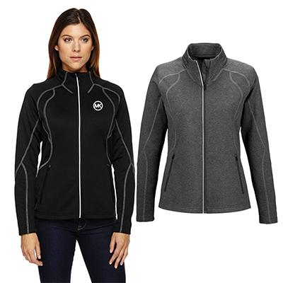north end ladies gravity performance fleece jacket
