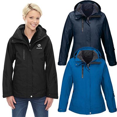 north end ladies caprice 3-in-1 jacket