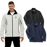 29572 - North End Men's Three-Layer Fleece Bonded Jacket