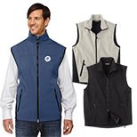 29575 - North End Men's Three-Layer Soft Shell Vest