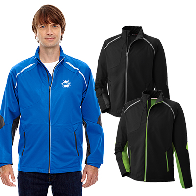 north end mens dynamo three-layer lightweight  jacket