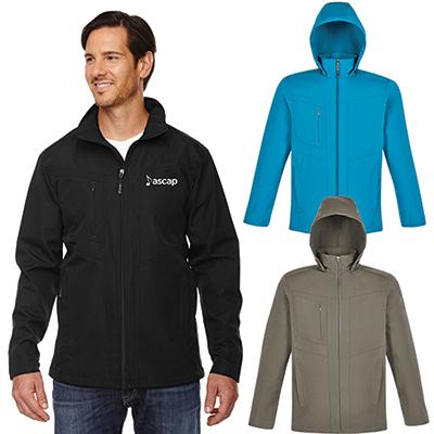 north end mens forecast three-layer light bonded jacket