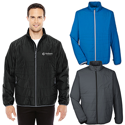 north end mens interactive insulated packable jacket