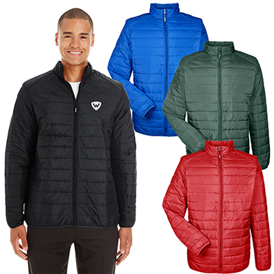 core 365 mens prevail packable puffer jacket