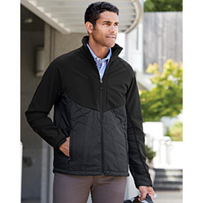north end mens innovate insulated hybrid jacket