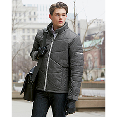 north end mens avant tech melange insulated jacket
