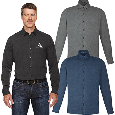 north end mens melange performance shirt