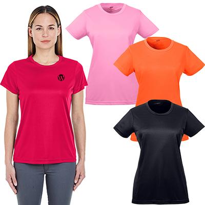 ultraclub ladies cool & dry sport performance t-shirt