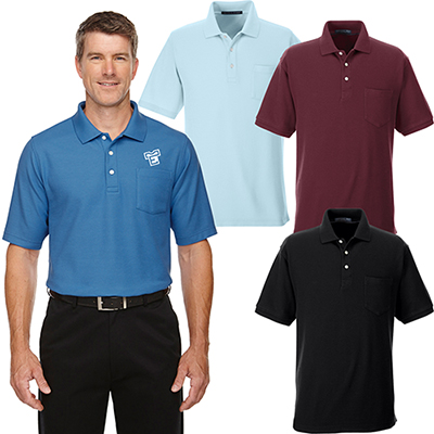 devon & jones mens drytec20™ performance polo