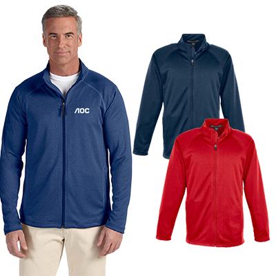 devon & jones mens stretch tech-shell® jacket