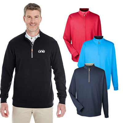 Devon & Jones Men's DRYTEC20™ Quarter-Zip Pullover
