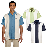 29694 - Harriton Men's Two-Tone Bahama Cord Camp Shirt