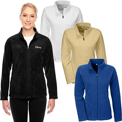 team 365 ladies campus microfleece jacket
