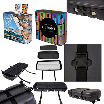 showgoer case-to-podium kit