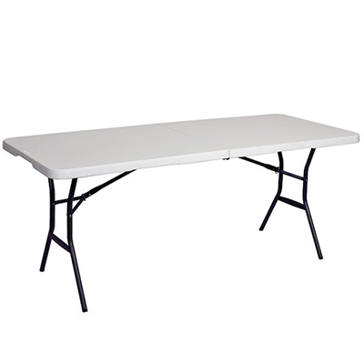 6 showgoer folding table