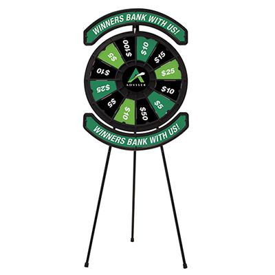 spin n win prize wheel kit
