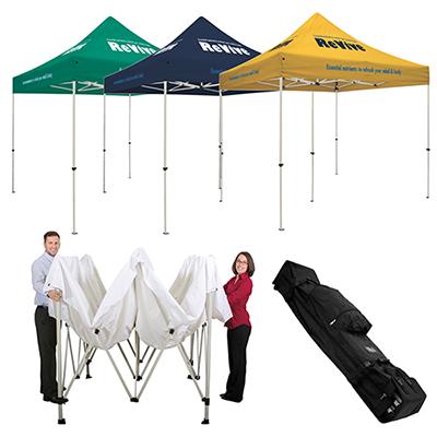 standard tent w/ 4 location imprint