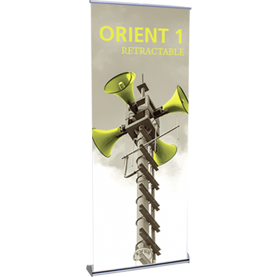 31.5 x 83 orient 800 retractable banner stand