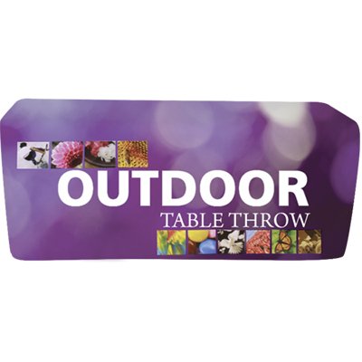 6 fitted outdoor table throw