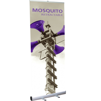 33.5 x 78 mosquito 850 retractable banner stand