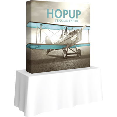 60.25 x 60.25 hopup 2x2 square tabletop display