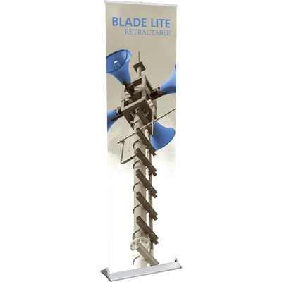 23.5 x 83 blade lite 600 retractable banner stand