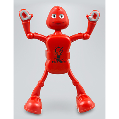 acro bot - red